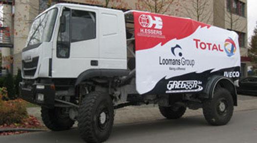 Dakar vrachtwagen